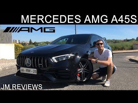 Mercedes AMG A45s 4MATIC+ 2020 - Um 2 LITROS, 421cv, #ASSUSTADOR!! - JM REVIEWS 2020