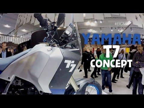 Yamaha Ténéré ! Ecco il concept svelato ad EICMA