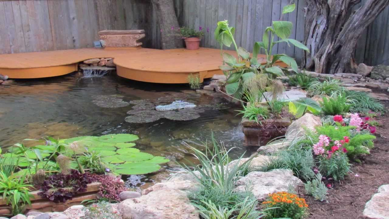 Koi pond demolition koi pond installation houston texas for Fish pond installers