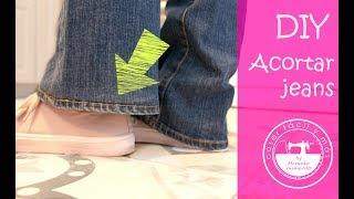 3 formas de acortar un pantalón vaquero, tejanos o jeans