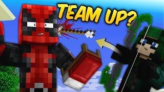 MINECRAFT HAWKEYE + DEADPOOL TEAM-UP! (Minecraft BedWars Roleplay)