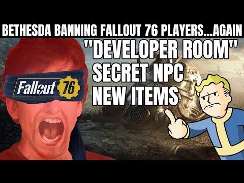 "Bethesda Bans Fallout 76 Players for Entering the Secret ""Developer Room"" thumbnail"