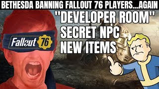 "Bethesda Bans Fallout 76 Players for Entering the Secret ""Developer Room"""