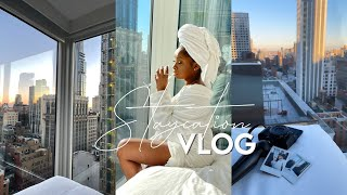 vlog 2 | nyc staycation! spend the weekend with me | Abiola K.