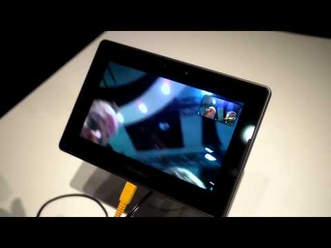 Video Chat On BlackBerry PlayBook.
