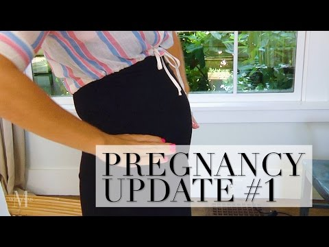 Pregnancy Update #1: Morning Sickness, Pregnancy Weight, and More!