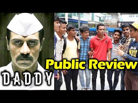 Daddy Movie Public Review | First Day First Show | Arjun Rampal As Arun Gawli