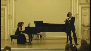 Nikolai Popov (flute), Natalia Frolova (piano) - Alfredo Casella - Sicilienne et Burlesque