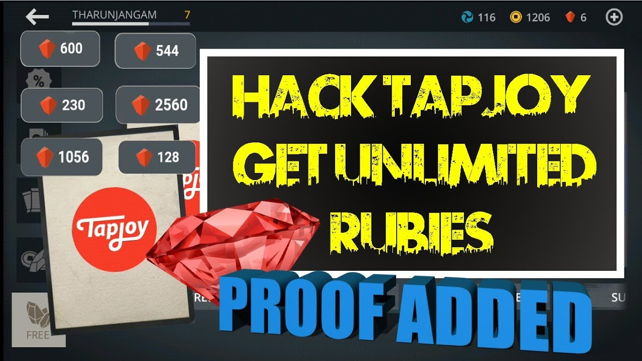 Shadow fight 3 Proof Added - Hack Tapjoy to get unlimited RUBIES