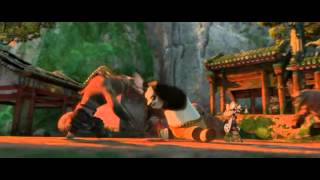 Kung Fu Panda 2 - Po Fight With Wolves