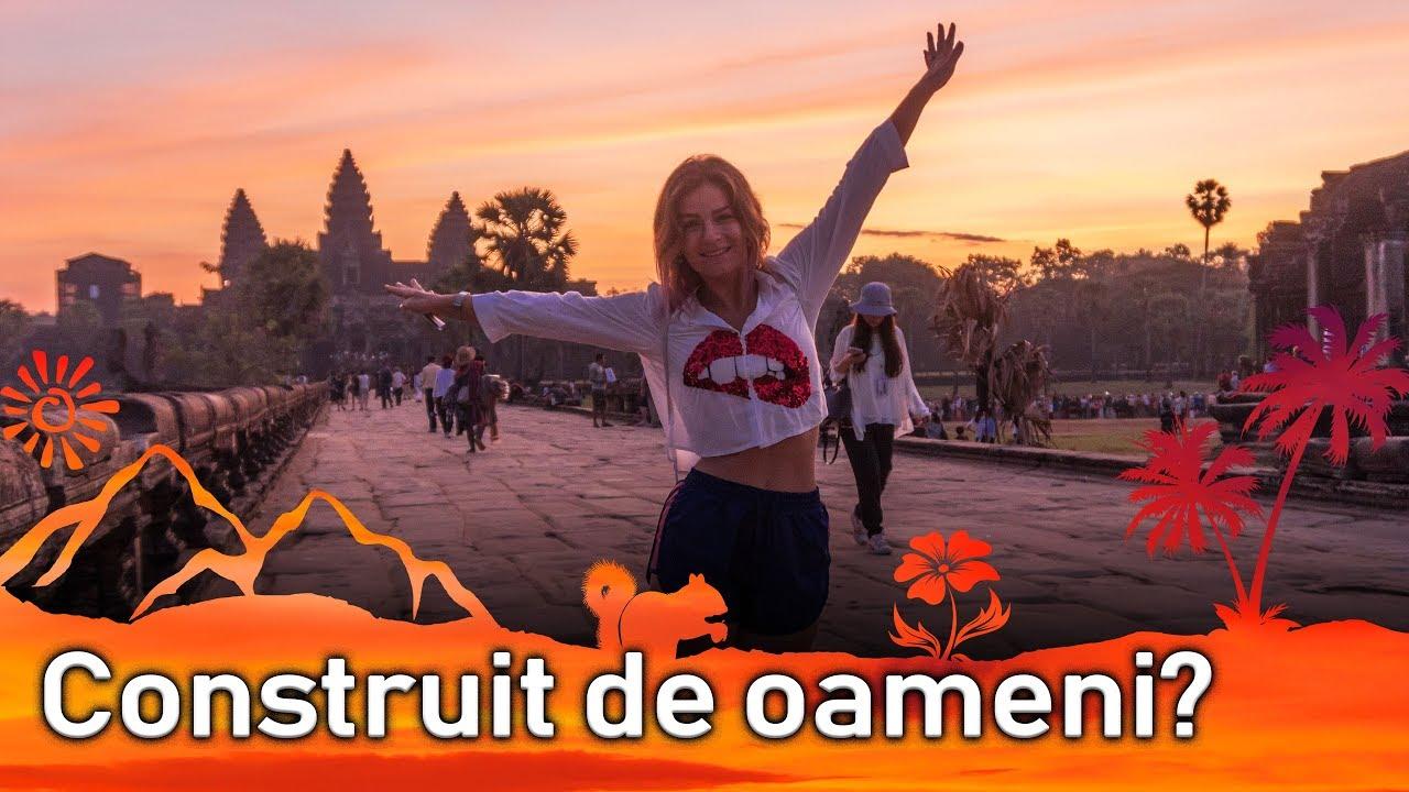 Angkor Wat in goana dupa soare (P1) || Jurnal de Calatorii #44