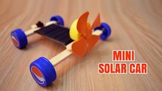 How to Make a Mini Solar Car - Homemade.