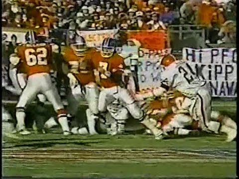 1987 AFC Championship Game Cleveland at Denver