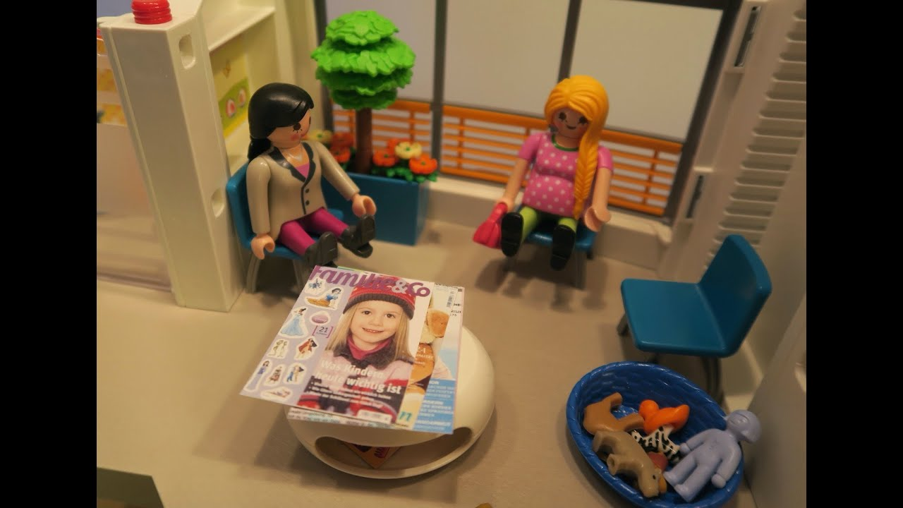 Playmobil Film Deutsch Sophia Muss Zum Arzt Playmogeschichten