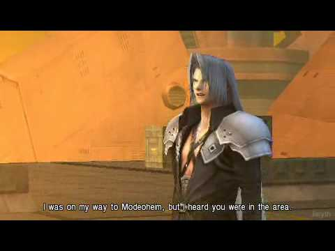 Crisis Core: Sephiroth Cares - English