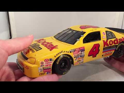 Review: 1996 Sterling Marlin #4 Kodak Film Chevy 1/24 Raceway Replicas NASCAR Diecast