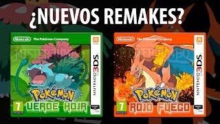 ¿Nuevo Juego de Pokémon? - REMAKE Verde Hoja y Rojo Fuego 3DS - Nuevas Megaevoluciones 1ª Generación