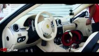 -400th vid- Ride in a Ferrari 612 Scaglietti Sessanta - Huge Sound-