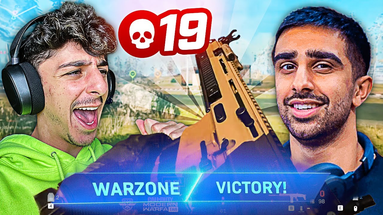 CARRYING VIKKSTAR123 TO A WARZONE VICTORY!!