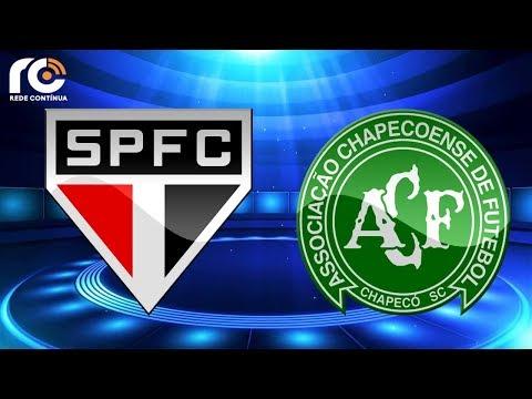 São Paulo X Chapecoense | AO VIVO | Brasileirão