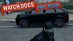 CUSTOMIZED CAR IN WATCH DOGS | Watch Dogs Free Roam