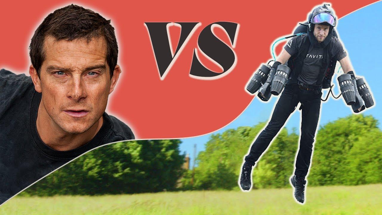 Download Bear Grylls Vs. The Real Life IRON MAN! | Bear Thrills