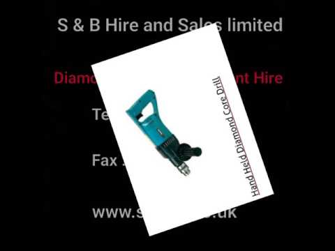 Diamond Drilling Equipment For Hire