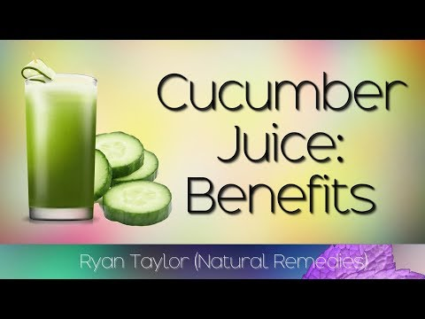 Cucumber Juice: Benefits and Uses