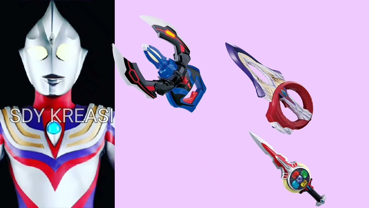 Ultraman Tiga guess Ultraman's weapon. Tebak tebakan senjata ultraman🤔🤔