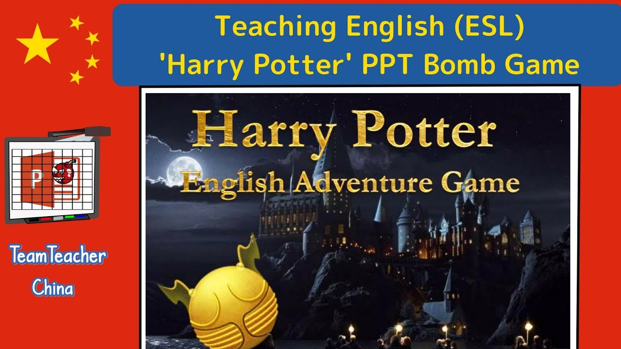 Harry Potter PPT Game (Powerpoint Game)