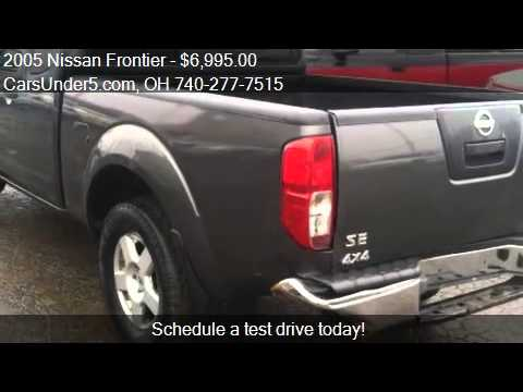2005 Nissan Frontier For Sale In Lancaster, OH 43130 At The