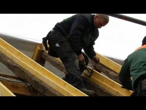 Neues Dach für die 42 (2. Tag)