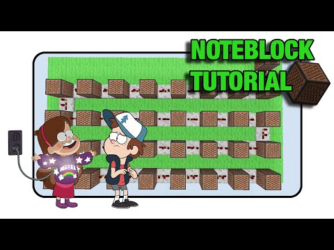 minecraft how to make a song with note blocks