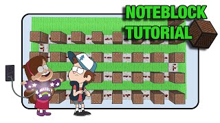 "Gravity Falls Doorbell - Note Block ""Tutorial"" (Minecraft Xbox/Ps3)"
