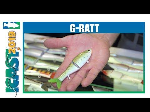 ICAST 2019 Videos - New G-Ratt Baits Sneaky Pete Glidebait