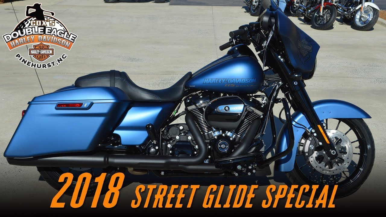 Road Glide Special 2017 >> 115th Anniversary Harley-Davidson® FLHXS - Street Glide® Special Legend Blue Denim - YouTube