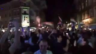 Nach Einzug ins WM-Finale: So ausgelassen feiern Kroaten in Rosenheim