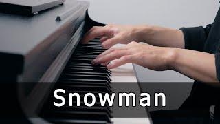 Sia - Snowman (Piano Cover by Riyandi Kusuma) видео