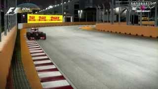 F1 2014 Gameplay: Vuelta rápida Singapur