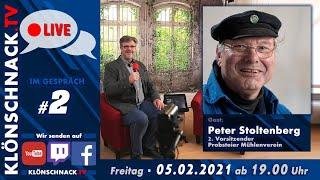 """""""Im Gespräch"""" mit Peter Stoltenberg, 2. Vors. Probsteier Mühlenverein"""