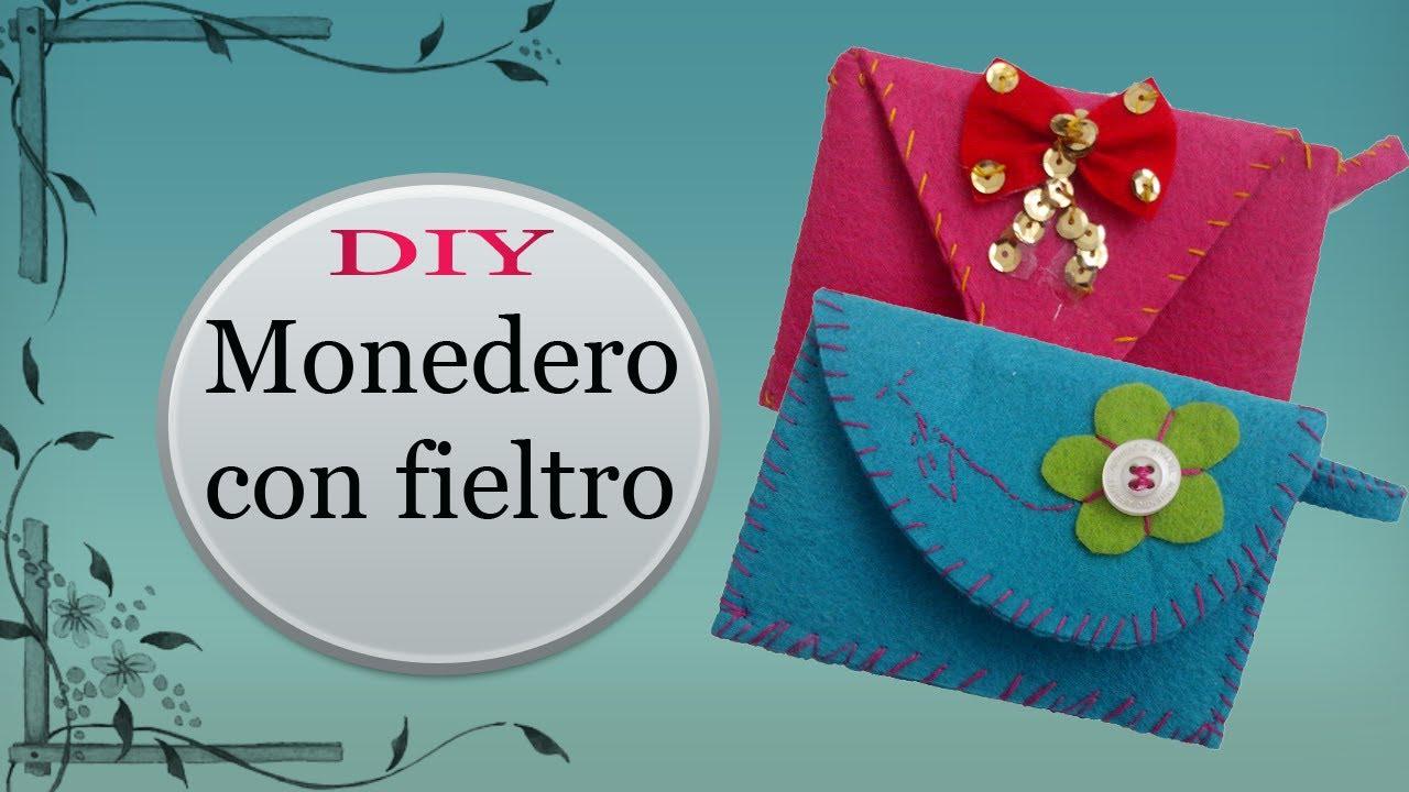 imágenes oficiales hermoso estilo buscar original DIY MONEDEROS CON FIELTRO por KEYZULE HL