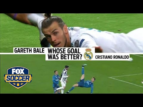 Which goal was better: Cristiano Ronaldo or Gareth Bale?