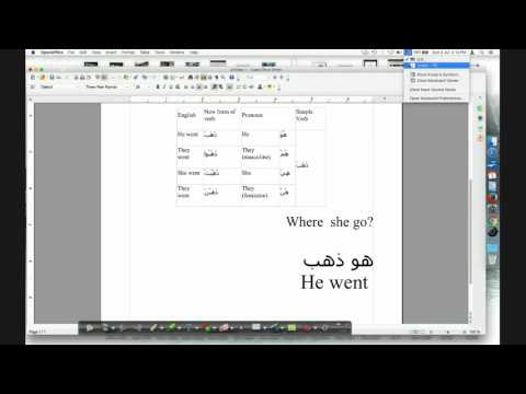 How Change Arabic words and  the  sentences to the plural