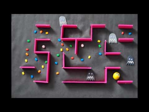 Pac-Man Stop Motion