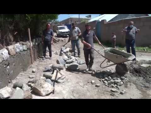 Համայնքի 2 բնակավայրում հենապատեր են կառուցվում