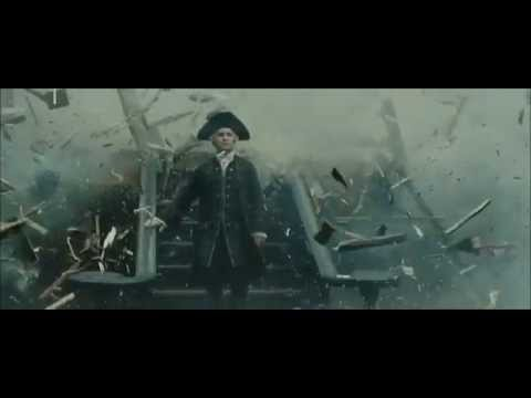 Pirates Of The Caribbean   Sinking Of HMS Endeavour & Cutler Beckett's Death