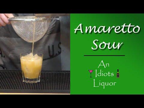 The Amaretto Sour Recipe How To - A Classic w/ DiSaronno Amaretto