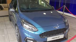VW Golf R Update + The New Fiesta ST Mk8 at Ford !