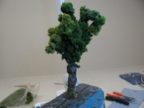How To Make Realistic Miniature Trees Intermediate Youtube