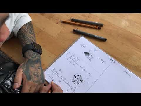 Bước đầu tiên đi học xăm tại (Tomakiet tattoo) là phải học vẽ vì vẽ sẽ có kiến thức để xăm hình đẹp.